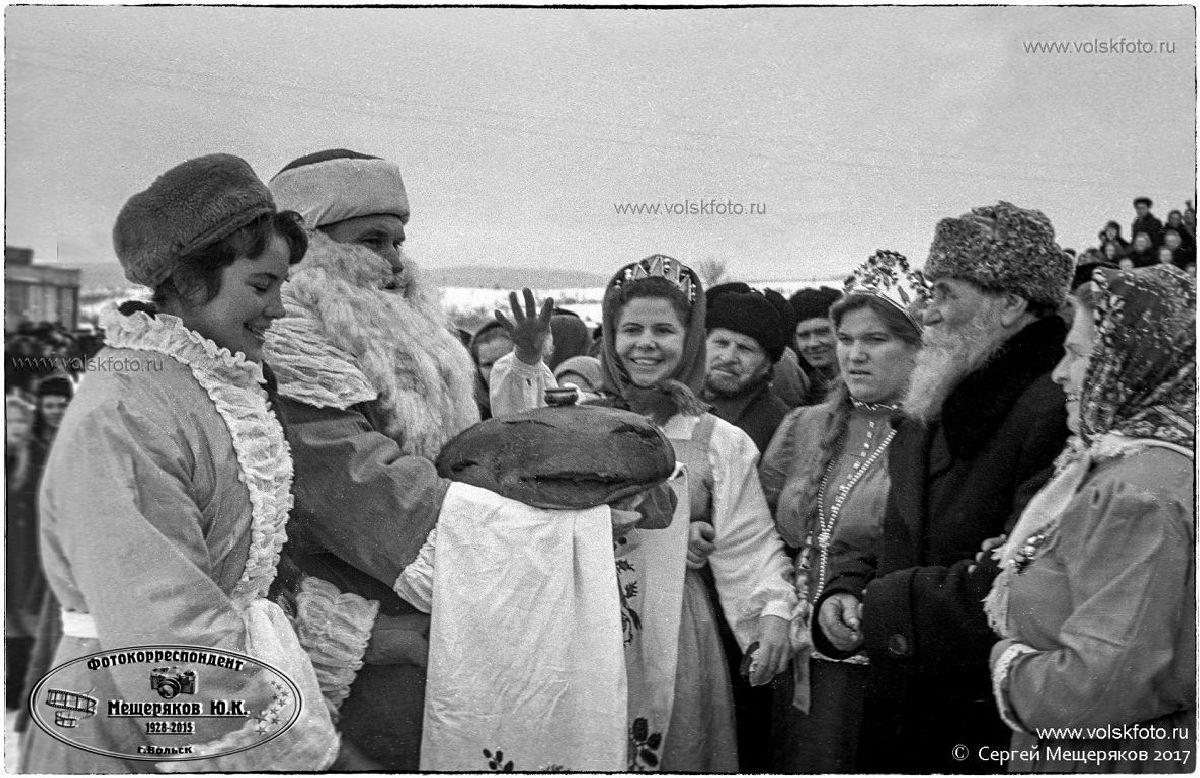 Праздник Русской Зимы в с.Колояр Вольский район