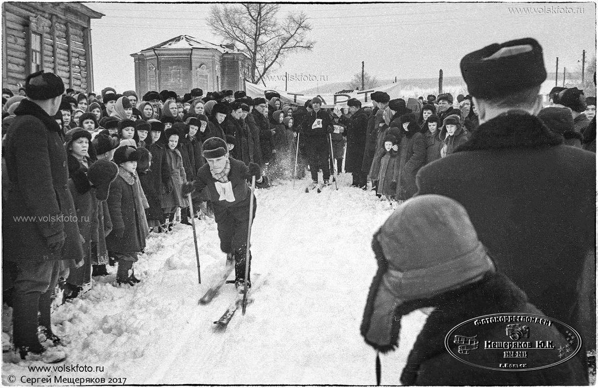Лыжы,Праздник Русской Зимы в с.Колояр Вольский район