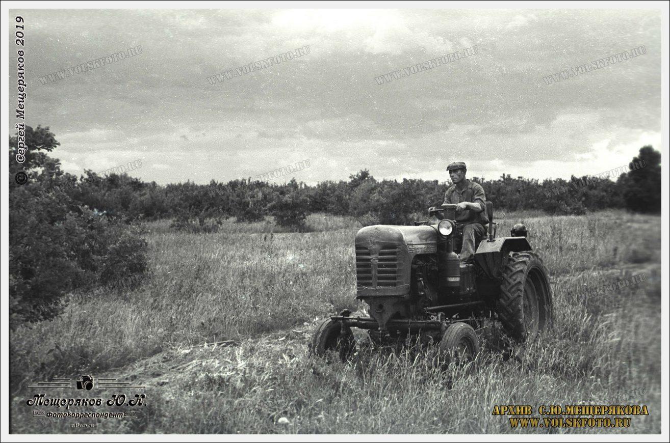 Тракторист из 60-х