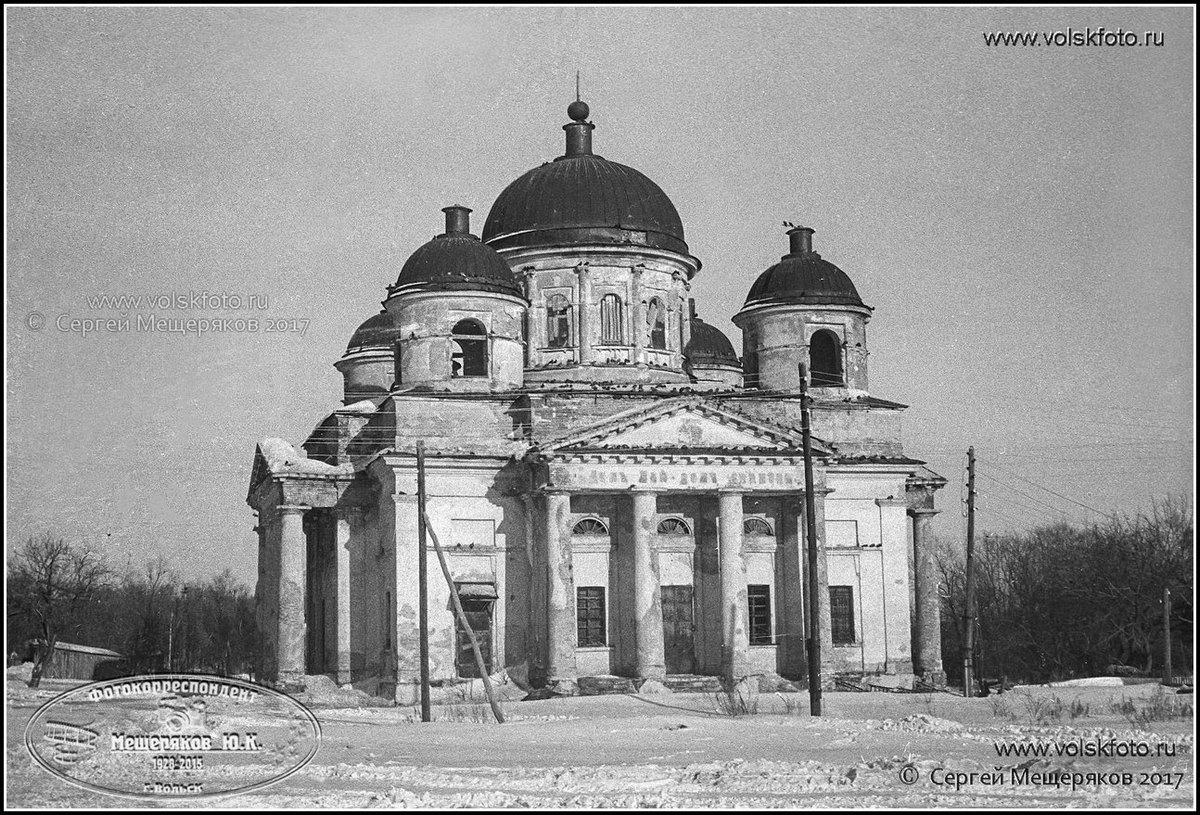 Храм Знамения Пресвятой Богородицы с. Черкасское.